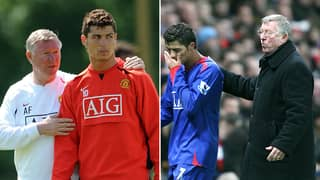 Sir Alex Ferguson Once Left Cristiano Ronaldo In Tears After Brutal 'Hair-Dryer' Treatment