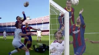Lionel Messi Almost Produced His Own 'Hand Of Goal' Goal Against Osasuna