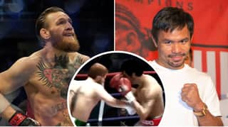YouTuber's Boxing Simulation For McGregor Vs. Pacquiao Ends In A Brutal Way