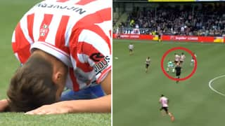 Player Scores Ridiculous Own Goal In Relegation/Promotion Play Off