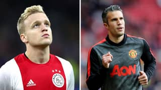 Robin Van Persie Sends Warning Message To Donny Van De Beek Ahead Of Manchester United Transfer
