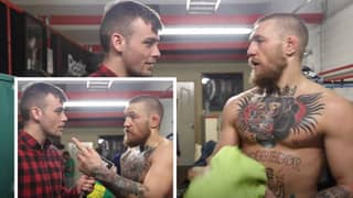 Conor McGregor Retweets Footage Of Himself Discussing Fighting At Welterweight
