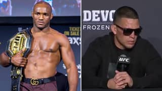 Kamaru Usman Issues Brutal Response To Nate Diaz's Rant About UFC 251 Main Event