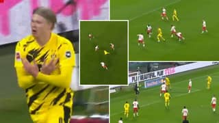 Erling Haaland Incredibly Starts And Finishes Borussia Dortmund Attack In Stunning Sequence