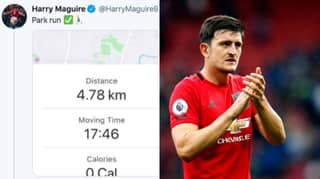 Harry Maguire Appears To Have Lied About Going For A Park Run
