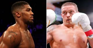 Footage Emerges Of Anthony Joshua Shouting 'I'm Coming Usyk!'