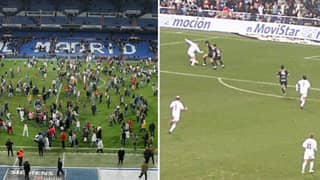 When Real Madrid Played A Six Minute Game In Front Of Fans At The Santiago Bernabeu