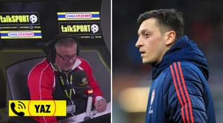 Arsenal Fan Cries About Mesut Ozil's Impending Departure Live On Radio