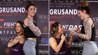 The Size Difference Between An MMA Atomweight And Featherweight Is Ridiculous