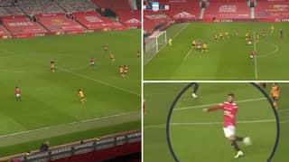 Cameras Caught Bruno Fernandes' Reaction To Marcus Rashford's 93rd Minute Winner Vs Wolves