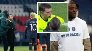 UEFA Have Suspended Fourth Official From Paris Saint-Germain Vs Istanbul Basaksehir Game