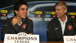 Cesc Fabregas Posts Classy Tribute To Arsene Wenger