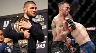 Khabib Nurmagomedov Sends Classy Message To Tony Ferguson After Loss At UFC 249