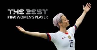 Megan Rapinoe Wins The Best FIFA Women's Player At The Best FIFA Football Awards