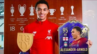 Trent Alexander-Arnold's Team Of The Year Card Is Pure Filth