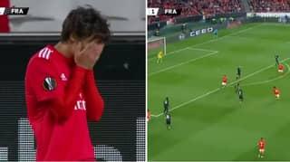 19-Year Old João Félix Scores Stunning Hat-trick Vs Frankfurt In Europa League Goalfest