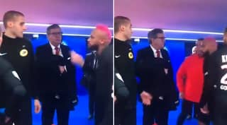 Neymar Entered Into Heated Confrontation With Referee After Yellow Card For 'Showboating'