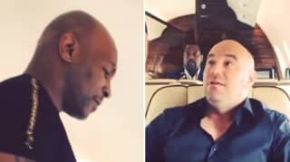Mike Tyson Bullying Dana White Out Of His Seat Is Hilarious