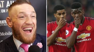 Conor McGregor Says Paul Pogba And Marcus Rashford Are His Two Favourite Players