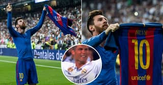 When Lionel Messi Silenced The Bernabeu With The Ultimate El Clasico Celebration