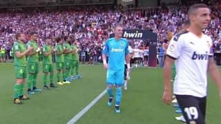 Jasper Cillessen Gets Guard Of Honour For Copa Del Rey Final He Lost