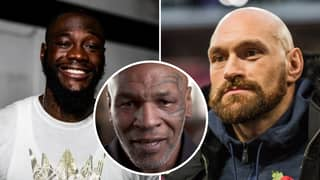 Mike Tyson Gives His Prediction For Tyson Fury And Deontay Wilder's Rematch