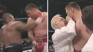 When Mike Tyson Made His Opponent Quit In-Between Rounds