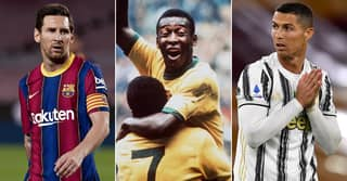 Pele's REAL Goal Record Is Still Better Than Lionel Messi Or Cristiano Ronaldo's