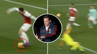 Mesut Ozil Explains His Mindblowing 'Bounce' Shooting Technique