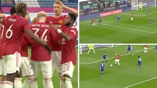 Donny van de Beek Sets Up Mason Greenwood With Outrageous Dummy