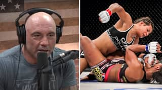 Trans MMA Fighter Calls For Joe Rogan Show To Be Cancelled