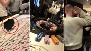 The Moment Lad Put £42,670 Winnings On Black At The Roulette Table