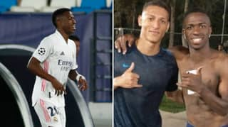 Richarlison Trolled Liverpool By Posting Picture Of Him And Vinicius Jr