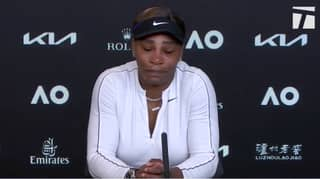 Emotional Serena Williams Storms Out Of Press Conference After Australian Open Exit