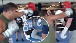 Logan Paul Gets Brutally Knocked Out By Undefeated UFC Fighter Paulo Costa In Sparring Session