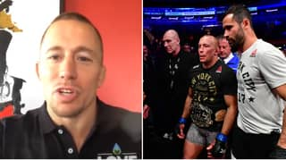 Georges St-Pierre Names His 'Best Ever' Fighter In MMA History And His UFC GOATs
