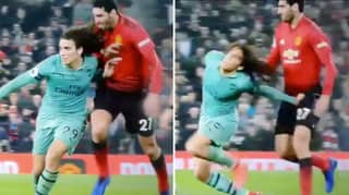 Marouane Fellaini Facing Ban For Pulling Matteo Guendouzi's Hair