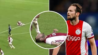 Daley Blind Collapses On The Pitch For A Second Time In Horrifying Footage