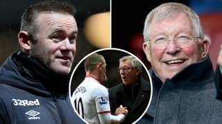 Sir Alex Ferguson Gives Wayne Rooney 'Very Moving' Present To Help Him As Derby County Manager