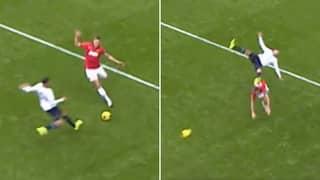 Nemanja Vidic's Bone-Crunching Challenge On Kyle Walker Is Still The Best In Premier League History