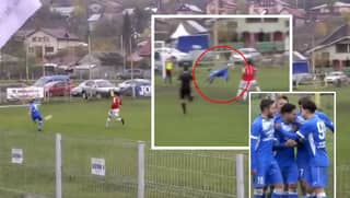Robert Asavoaei Scores Puskas Award Worthy Scorpion Kick In Romanian Third Tier, It Deserves To Be Seen