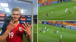 When Erling Haaland Scored A Ridiculous Nine Goals In One Game