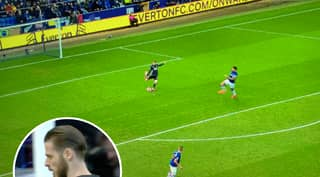 Manchester United's David De Gea Makes Horrendous Error To Give Everton The Lead