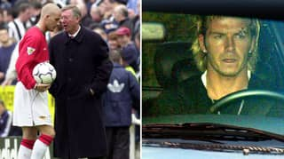 What Sir Alex Ferguson Said To David Beckham After Boot Kicking Incident