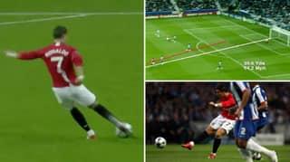 Cristiano Ronaldo's Goal Against FC Porto Was So Good He Got A Copy On DVD
