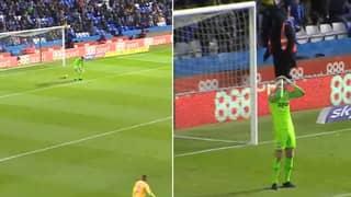Preston's Declan Rudd Nutmegged From 35 Yards In Worst Goalkeeper Gaffe Of 2018