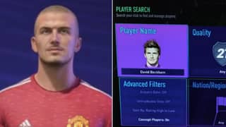 Leaked Screenshots Show Three Different Versions Of 'ICON' David Beckham In FIFA 21