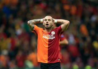 Galatasaray's Wesley Sneijder Is Available For A Dirt Cheap Fee