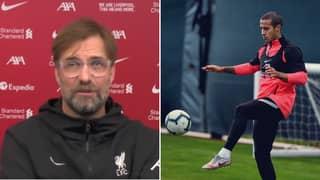Liverpool Boss Jurgen Klopp Gives Worrying Thiago Injury Update