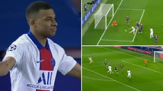 Kylian Mbappe Scores Brilliant Hat-Trick As PSG Beat Barcelona